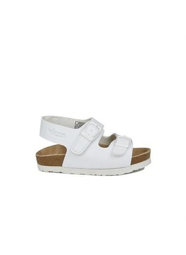 Vicco Vicco 321.20Y.360 Günlük Erkek Çocuk Sandalet Terlik Beyaz